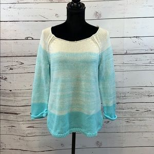 Lilly Pulitzer Nantucket Blue Ombre Sweater